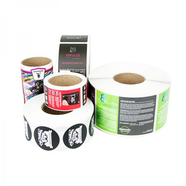 Quality Pantone Color 250g Sticker Paper Printed Adhesive Labels wholesale