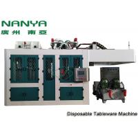 Cheap Sugarcane Disposable Take Away Tableware Pulp Molding Equipment With PLC + Touch Screen + Simens for sale