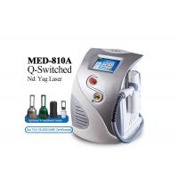 Cheap 500w  Laser Tattoo Removal Equipment , Stationary Q Switched Nd Yag Laser Machine for sale