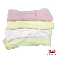 Cheap 5kg/Bag Colored T Shirt Rags for sale