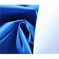 Blue 196T Polyester Taslan Fabric 75 * 160D , Soft Rayon Spandex Knit Fabric