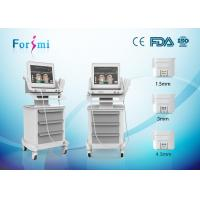 Cheap HIFU wrinkle removal and skin tightening machine with 300W input power in best price for sale