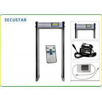 Cheap CE FCC Approved Archway Metal Detector , Metal Detector Security Gate For Airport for sale