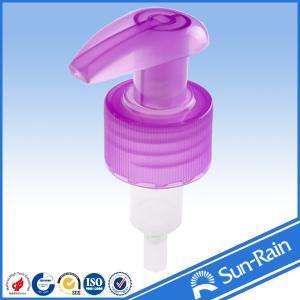 Cheap 24mm 28mm Plastic lotion pump / liquid dispenser for shampoo bottle for sale