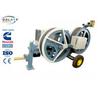 Cheap 5T Transmission Line Equipment Hydraulic Tensioner Machine With 1300/1500mm Bull Wheel for sale