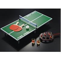 Easily Stored Kids Table Tennis Table 60 X 40 X 15 Cm Size For Family Entertainment