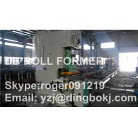 Cheap Solar Photovoltaic Purlin Roll Forming Machine With Punching Device for sale