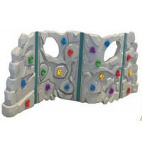 Cheap Anti UV Outdoor Plastic Climbing Wall Good Slip Resistance For 1-3 People for sale