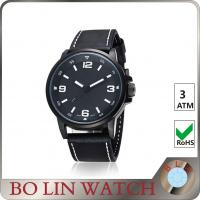 China Private label  Swiss Military Automatic Watches , Modern Waterproof Military Wrist Watches on sale