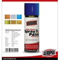 Cheap Car Paint 400ml Tin Spray Paint  Metallic Color Spray Paint for sale