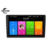 Cheap Android CAR RADIO Universal Car DVD Player 2 DIN Car Radio Screen Mirroring BT FM GPS Wifi DSP 2.5D Glass for sale