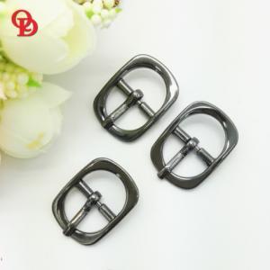 Cheap Custom Zinc Alloy Pin Belt Buckle / Mens Fashion Belt Buckles With CNC Engrave Logo for sale