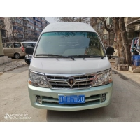 Cheap 2013 Year 6 Seats Gasoline JINBEI Hiace 2.0 Used Mini Bus No Accident for sale
