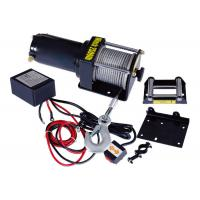 Cheap Single Line 2500 lbs Electric ATV Winch , Portable Cable Winch for sale