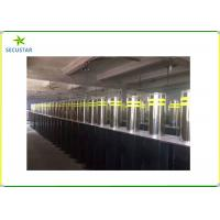 Cheap Automatic Retractable Parking Bollards , Hydraulic Rising Bollards 600mm Height for sale