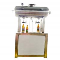 China 2 Heads Keg Filling Machine , Bottle Filling Equipment With Fast Filling Speed on sale