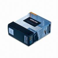 Cheap Printed Clear PVC Boxes of Garment Packaging, with Creative Design for sale