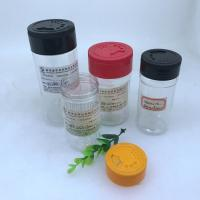 Buy cheap Airtight 150ml Plastic Spice Shaker / PET Pepper Packing Container from wholesalers