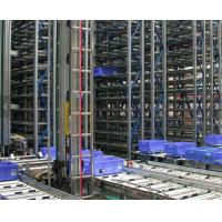 Cheap Robot Welding ASRS Warehouse System , Radio Shuttle Racking With Laser Positioning Technology for sale