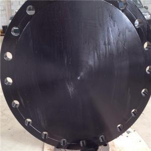 Cheap DIN 2615-1 / DIN EN 10253-2 Forged Steel Flanges Round Shape EN 10253 Werkstoff for sale