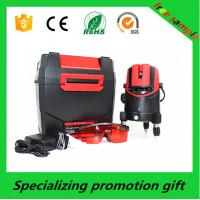 Cheap Red / black ABS case Self leveling Laser Level 650nm / 635nm 5m±1mm for sale