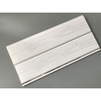Printing Surface Plastic Wall Liner Panels , White Wood Paneling For Walls
