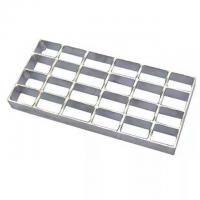 Cheap 2mm Welded Steel Grating Hot Dipped Galvanized Press For Drainage Channel for sale