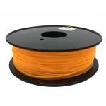 Cheap Fluorescent Orange HIPS 3d Printer Filament 1.75mm For Makerbot No Odor for sale