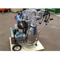 Cheap Food Grade Portable Milking Machine Twin Buckets With CE Approved for sale