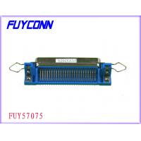 Buy cheap 50 Pin Receptacle Centronic Right Angle Female PCB Connector Certified UL from wholesalers