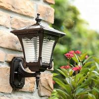 Cheap Wall Mounted Solar Powered LED Outdoor Lights With Aluminium Frame for sale