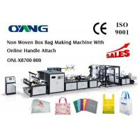 Cheap Muti - Functional Automatic Non Woven Rice Bag Making Machine , CE for sale