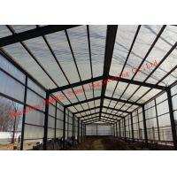 China Sandwich Panel Cladding Poultry Steel Framing Systems Structural Steel Construction Shed on sale
