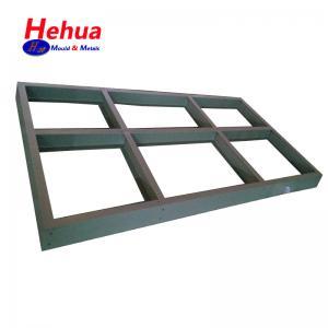 Cheap Custom Structural Sheet Metal Fabricated Aluminium Brass No Bur Sharp Edge for sale