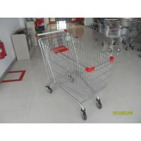 Buy cheap Zinc Plated Low Carbon Steel Supermarket Shopping Carts 240L 1100x590x1076mm from wholesalers