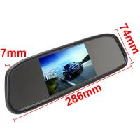 Cheap Rear View Mirror Car Monitor 4.3 Inch Monitor LCD Color Screen 4.3 Inch for sale
