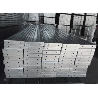 Cheap Q195 Scaffolding Steel Planks , Metal Walk Boards For Ringlock System for sale