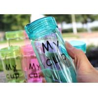 Environmental Heat Resistant Water Bottle Bpa Free For Daily Drinking 370ml