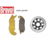 Quality OEM Aftermarket Honda Motorcycle Brake Pads Good Performance Low Noise wholesale
