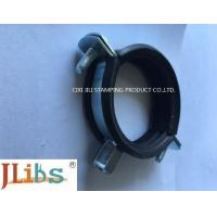 Welding type Cast Iron Pipe Clamps with EPDM Rubber Zinc Plated steel