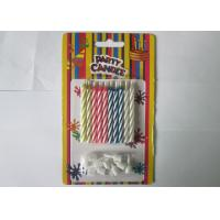 Paraffin Magic Relighting Birthday Candles Multi Colored For Party Decoration Manufactures