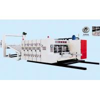 Cheap PLC Control Flexo Printer Slotter Machine For Corrugated Box 2 Colors High Speed for sale