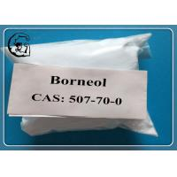Cheap Nature Borneol Oral Anabolic Steroids CAS 507-70-0  MF C10H18O white powder for sale