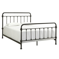 Cheap Assemble Home Furniture Vintage ODM Industrial Pipe Bed Frame for sale