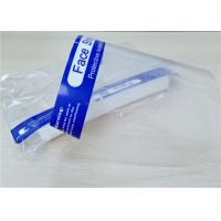 Cheap Transparent Protective Face Shield 330×220mm For Droplets Prevention for sale