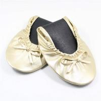 Cheap Quality Gold Ballet Flats with Euro Size, Buckle Flat Shoes for Ballet Flats Women for sale