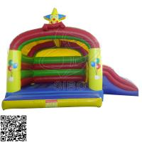 Cheap Colorful Mini Pvc Inflatable Jumping Bouncer For Kindergarten Entertainment for sale