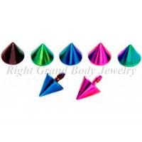 Cheap Anodized Spike Body Jewelry Top Parts Nickel And Lead Free For Girl for sale
