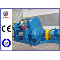 Manual Type Rubber Mixing Equipment , Intermix Rubber Mixer With ZQ Reducer