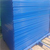 Buy cheap Construction Site Most Convenience canada temporary fence panel/chain link fence from wholesalers